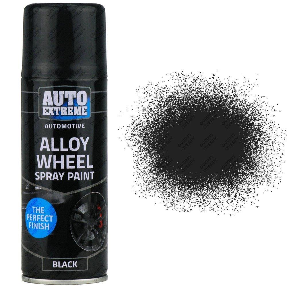 it 39 s spray time black satin alloy wheel spray 200ml restorer. Black Bedroom Furniture Sets. Home Design Ideas
